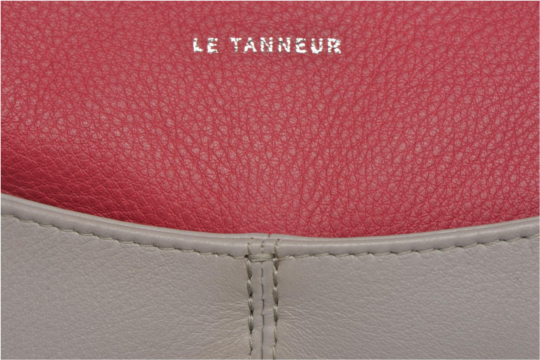VALENTINE Pochette zippée Bicolore Acier Fushia