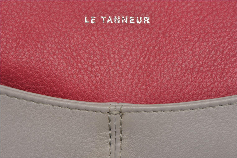 Sacs pochettes Le Tanneur VALENTINE Pochette zippée Multicolore vue gauche