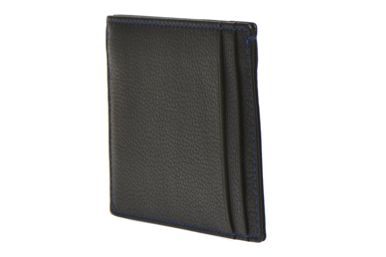 Petite Maroquinerie Le Tanneur MARIUS Porte-papiers 3 poches Noir vue droite