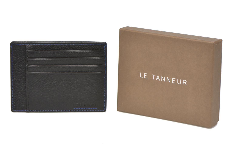Petite Maroquinerie Le Tanneur MARIUS Porte-papiers 3 poches Noir vue détail/paire