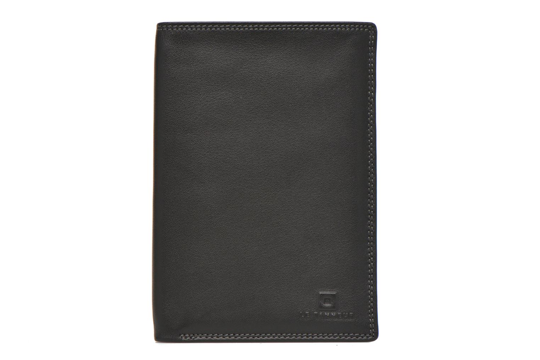 Marroquinería pequeña Le Tanneur TOURAINE Portefeuille poche zip 2 volets Negro vista de detalle / par