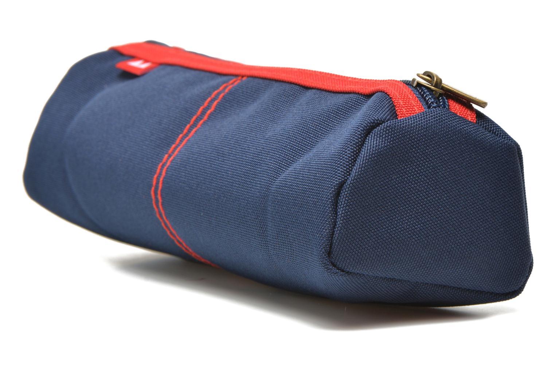 Scolaire Poids Plume Trousse triangle unie Bleu vue droite