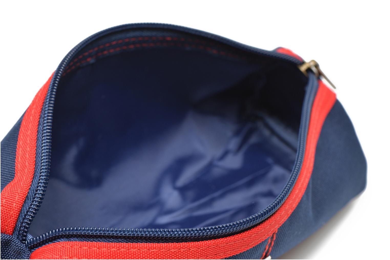 School bags Poids Plume Trousse triangle unie Blue back view