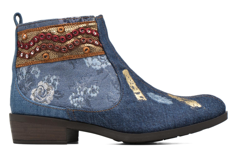 Bottines et boots Desigual Denim patch boho Multicolore vue derrière