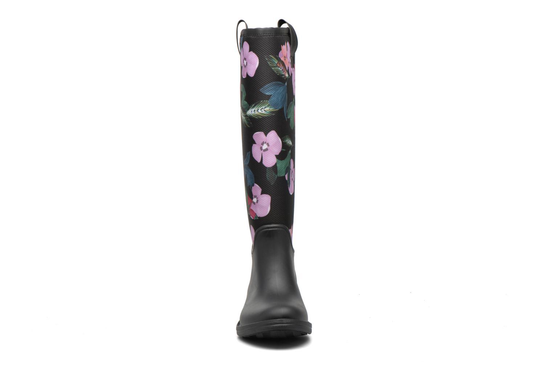 Bottines et boots Desigual Rain boot Multicolore vue portées chaussures