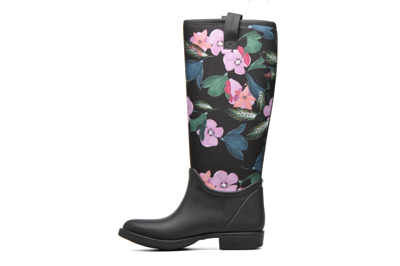 Ankle boots Desigual Rain boot Multicolor front view
