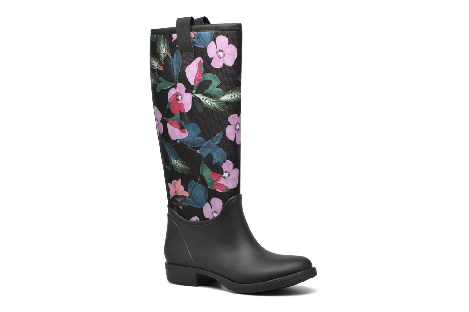 Ankle boots Desigual Rain boot Multicolor detailed view/ Pair view