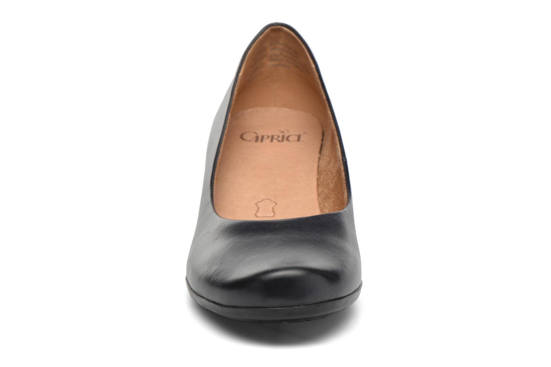 Escarpins Caprice Shante Bleu vue portées chaussures