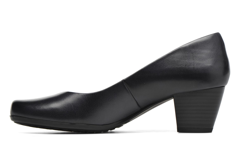 Zapatos de tacón Caprice Shante Azul vista de frente