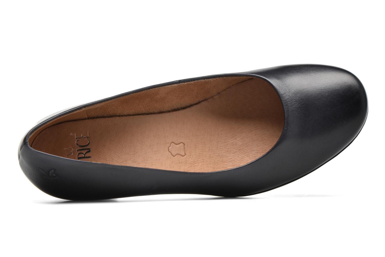 Zapatos de tacón Caprice Shante Azul vista lateral izquierda