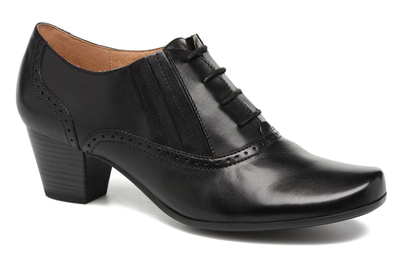 Chaussures à lacets Caprice Shante Lace boot Noir vue détail/paire