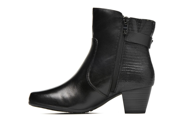 Bottines et boots Caprice Dora Bootie Noir vue face