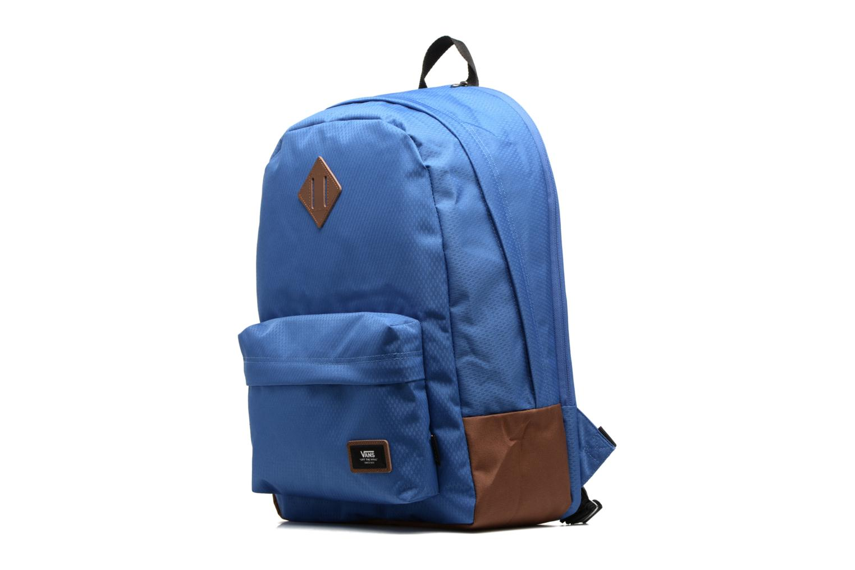 Rucksäcke Vans OLD SCHOOL PLUS blau schuhe getragen