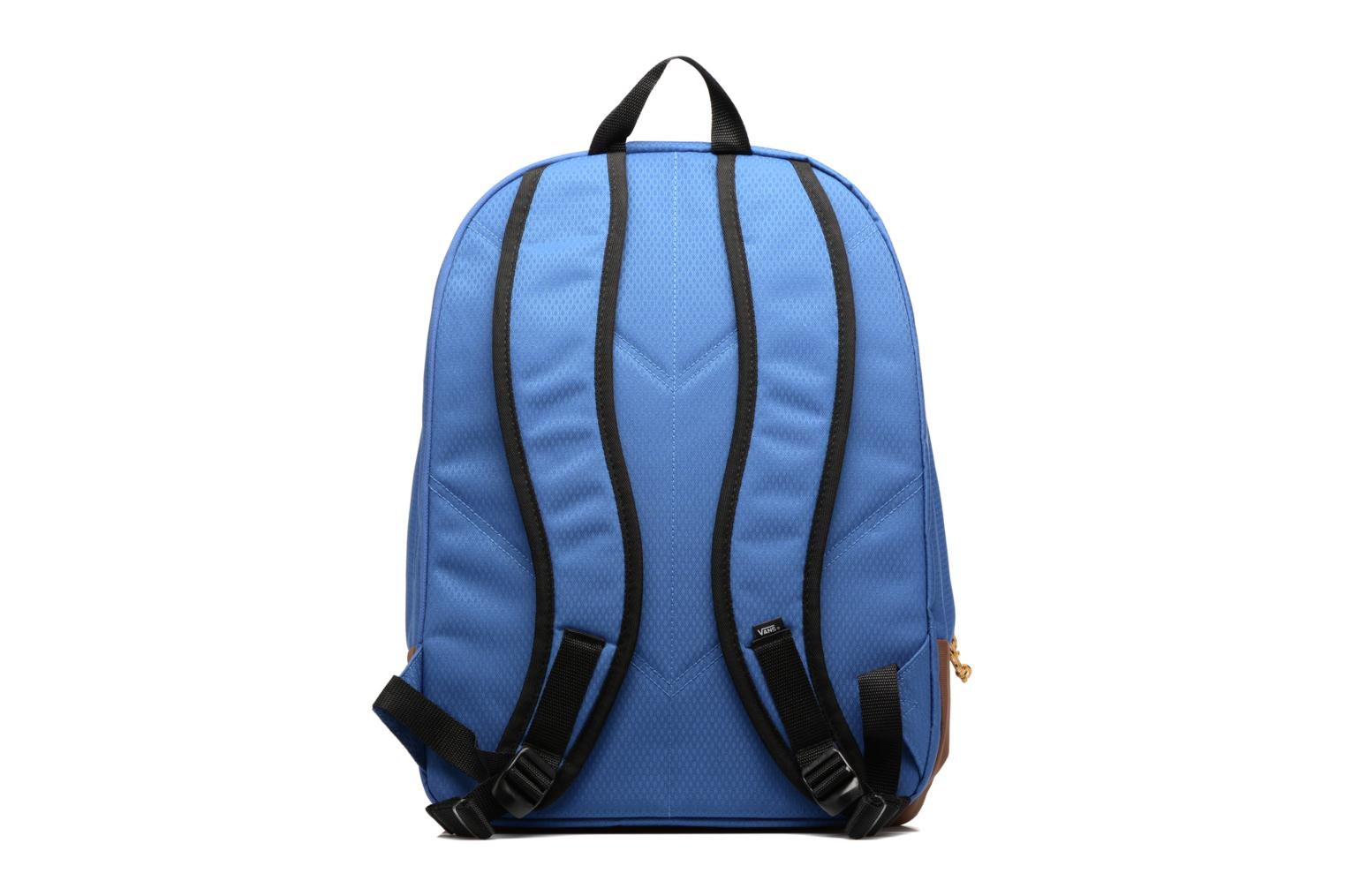 Rucksacks Vans OLD SCHOOL PLUS Blue front view
