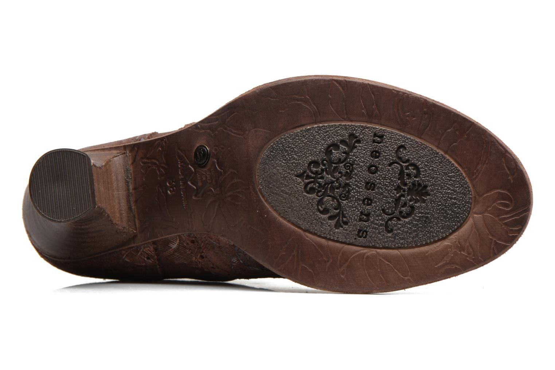 Bottines et boots Neosens Rococo S865 Marron vue haut