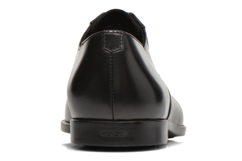 Zapatos con cordones Kenzo Jiminy Negro vista lateral derecha