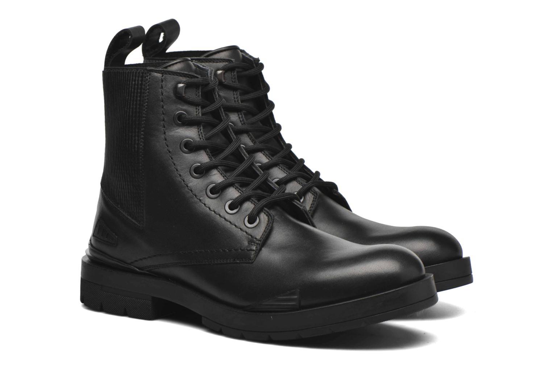 Bottines et boots Kenzo Raid Noir vue 3/4