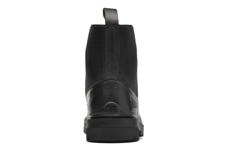 Bottines et boots Kenzo Raid Noir vue droite