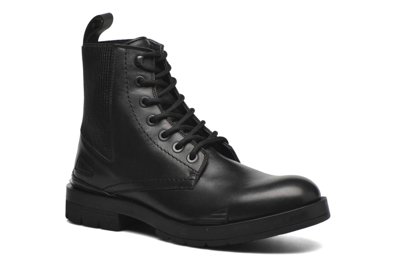 Bottines et boots Kenzo Raid Noir vue détail/paire