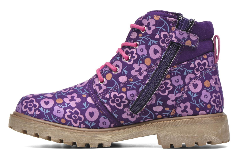 Ankle boots Agatha Ruiz de la Prada Dessert Agatha 2 Purple front view