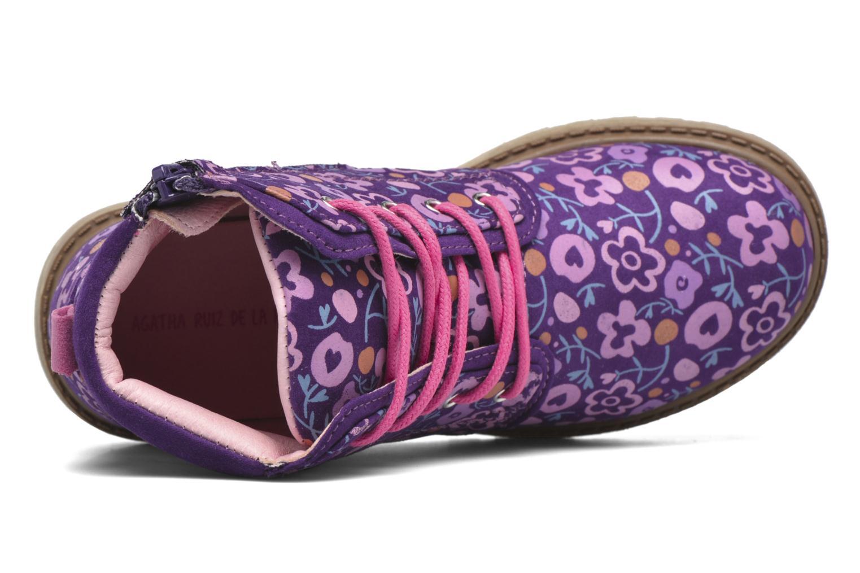 Stiefeletten & Boots Agatha Ruiz de la Prada Dessert Agatha 2 lila ansicht von links