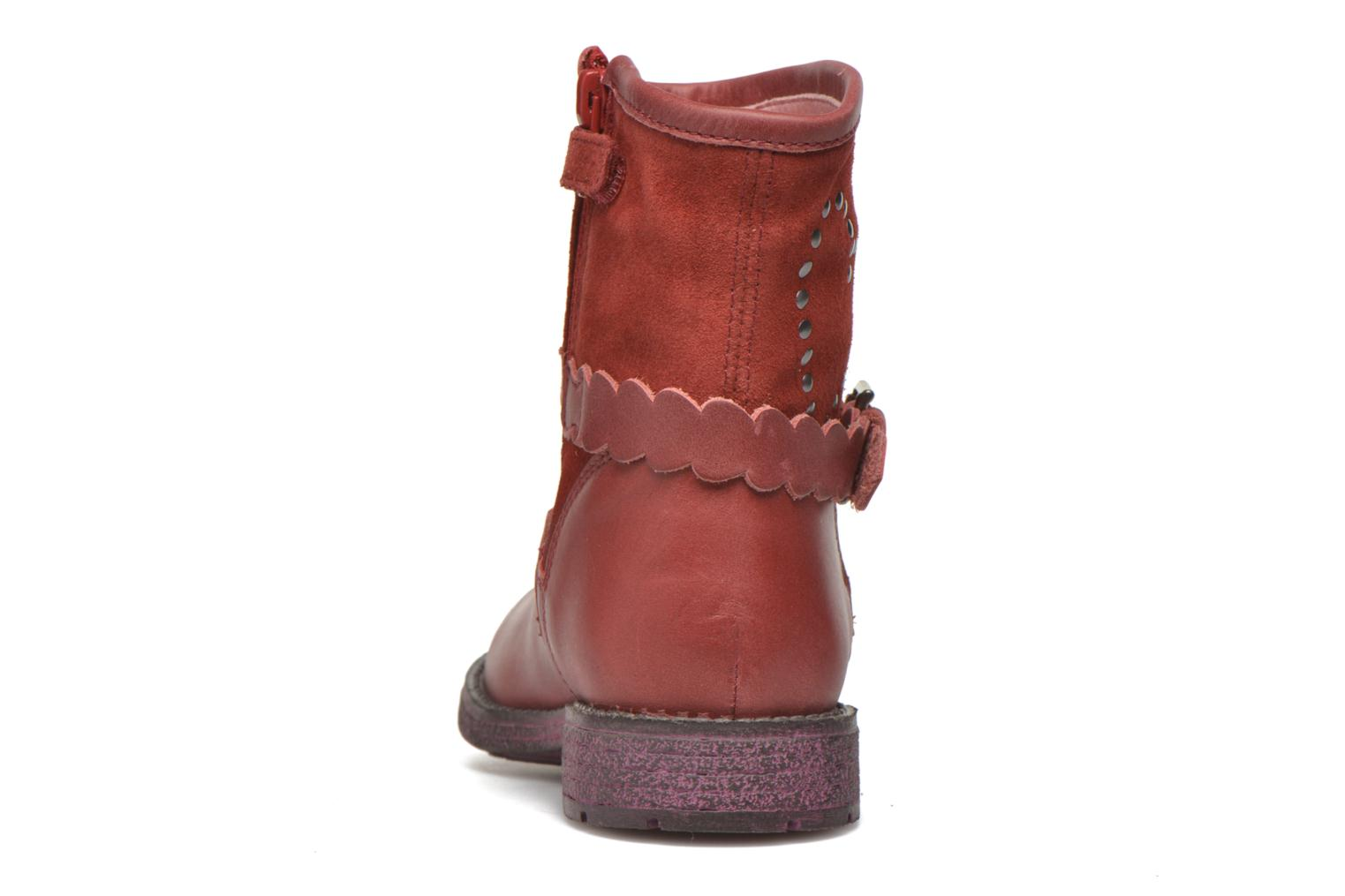 Ankle boots Agatha Ruiz de la Prada Vagabunda Agatha 2 Red view from the right