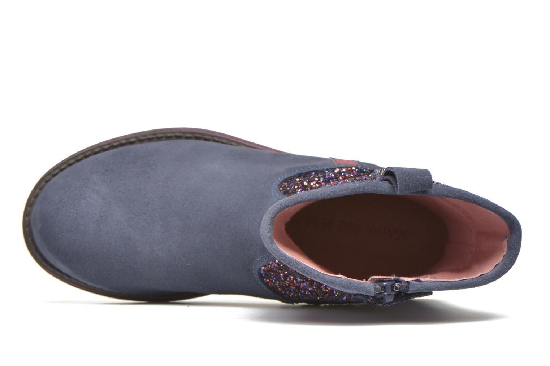 Stiefel Agatha Ruiz de la Prada Vagabunda Agatha 3 blau ansicht von links