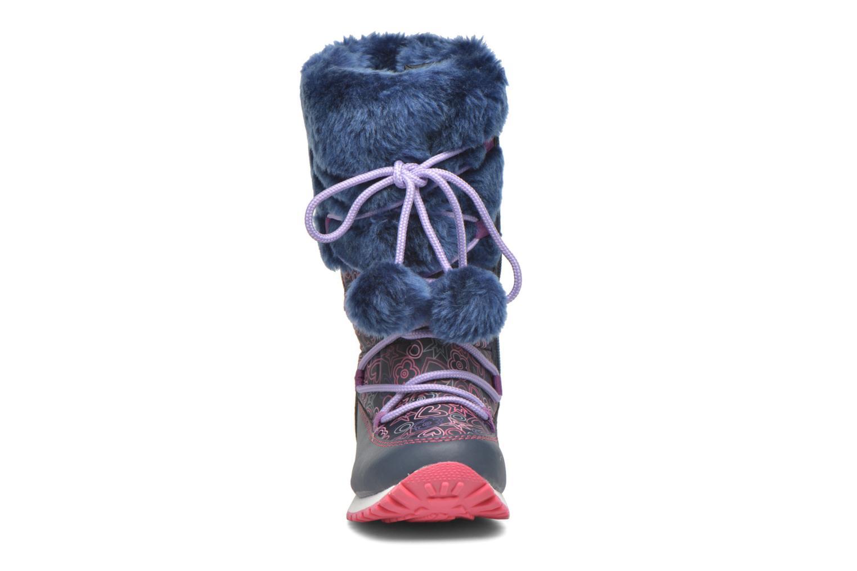 Stiefel Agatha Ruiz de la Prada Après-Ski Agatha 2 blau schuhe getragen