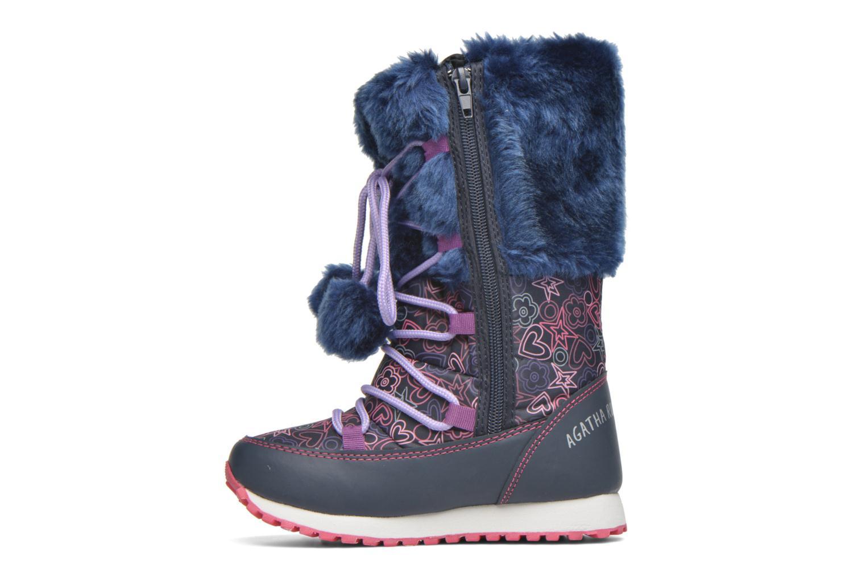 Stiefel Agatha Ruiz de la Prada Après-Ski Agatha 2 blau ansicht von vorne