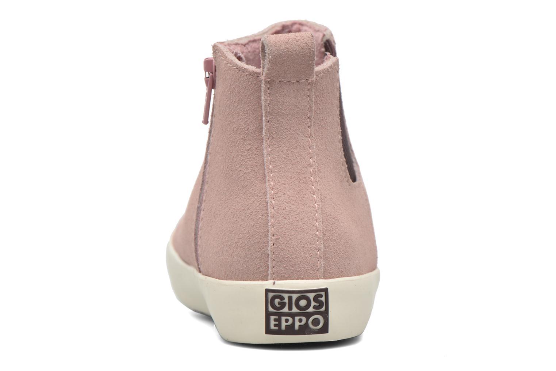 Bottines et boots Gioseppo Bose Rose vue droite