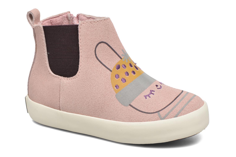 Bottines et boots Gioseppo Bose Rose vue détail/paire