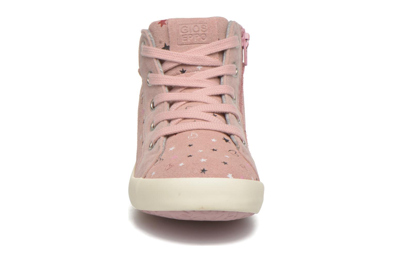 Baskets Gioseppo Nacha Rose vue portées chaussures