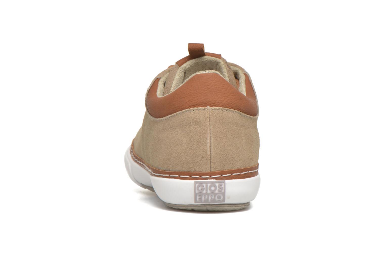 Sneaker Gioseppo Harrison beige ansicht von rechts