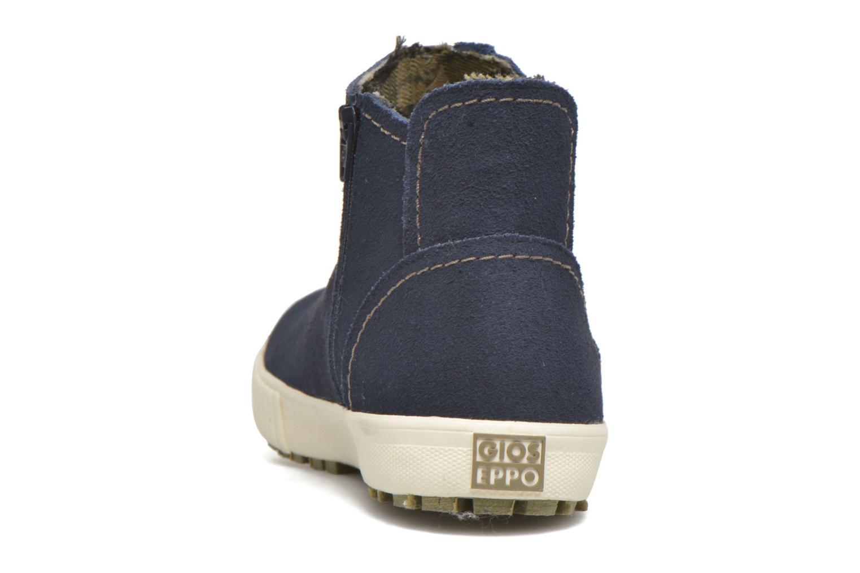 Bottines et boots Gioseppo Sprout Bleu vue droite