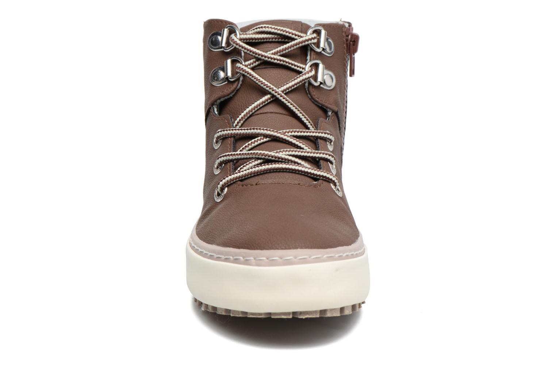 Baskets Gioseppo Kermit Marron vue portées chaussures
