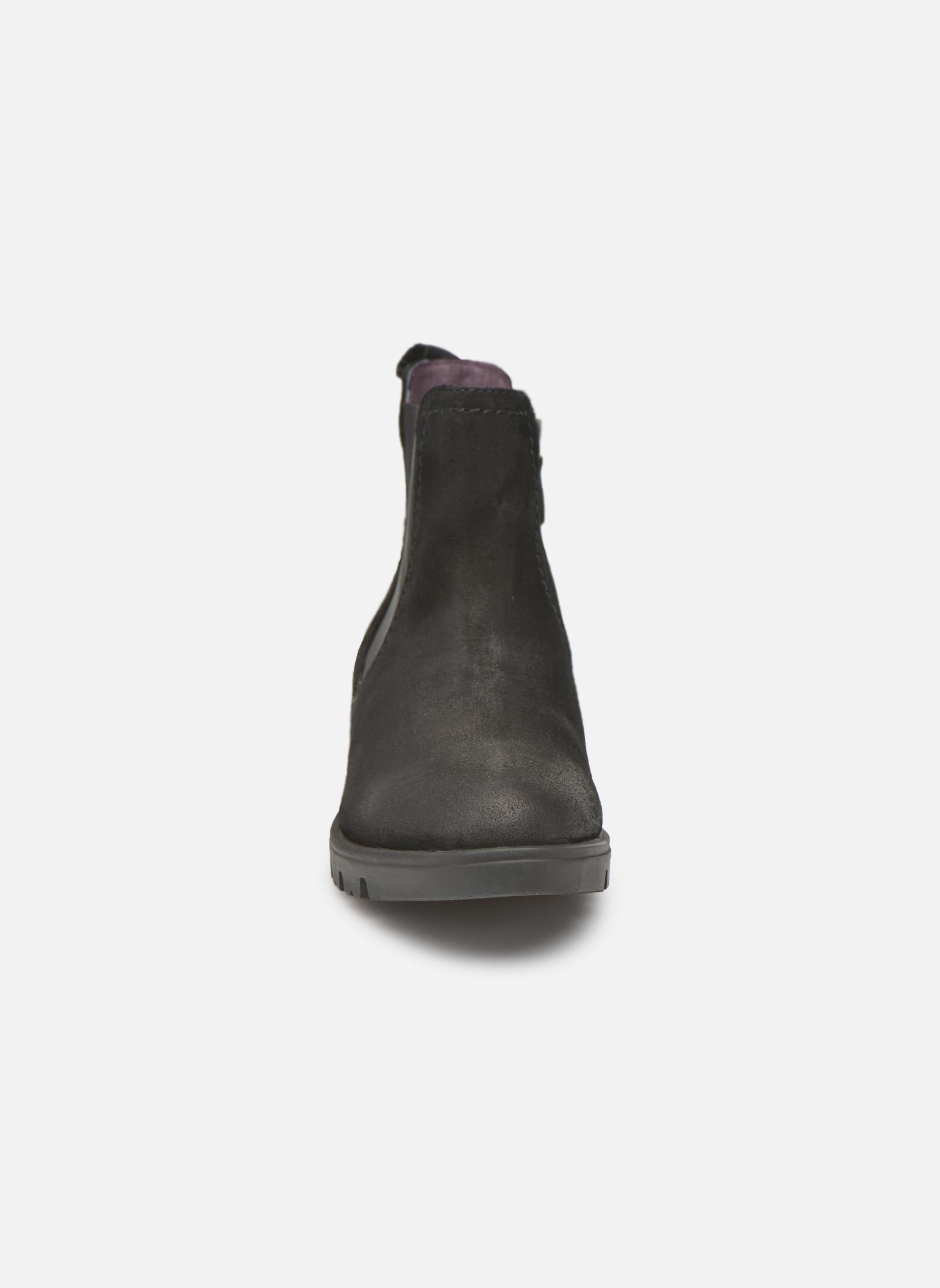 Bottines et boots Gioseppo Muros Noir vue portées chaussures