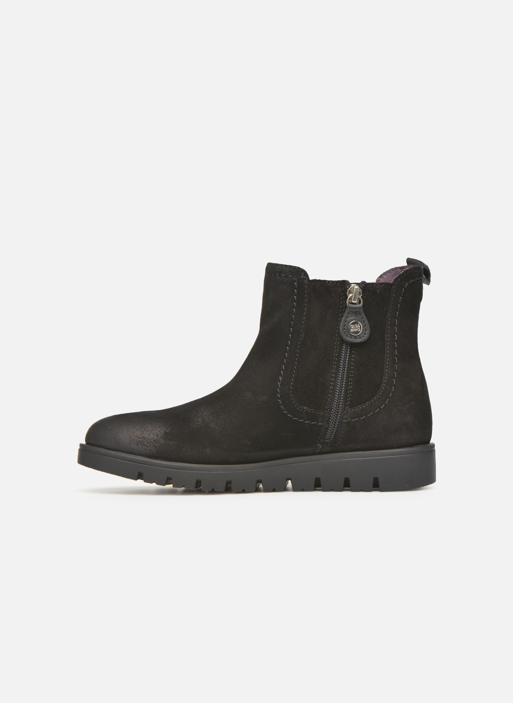 Bottines et boots Gioseppo Muros Noir vue face