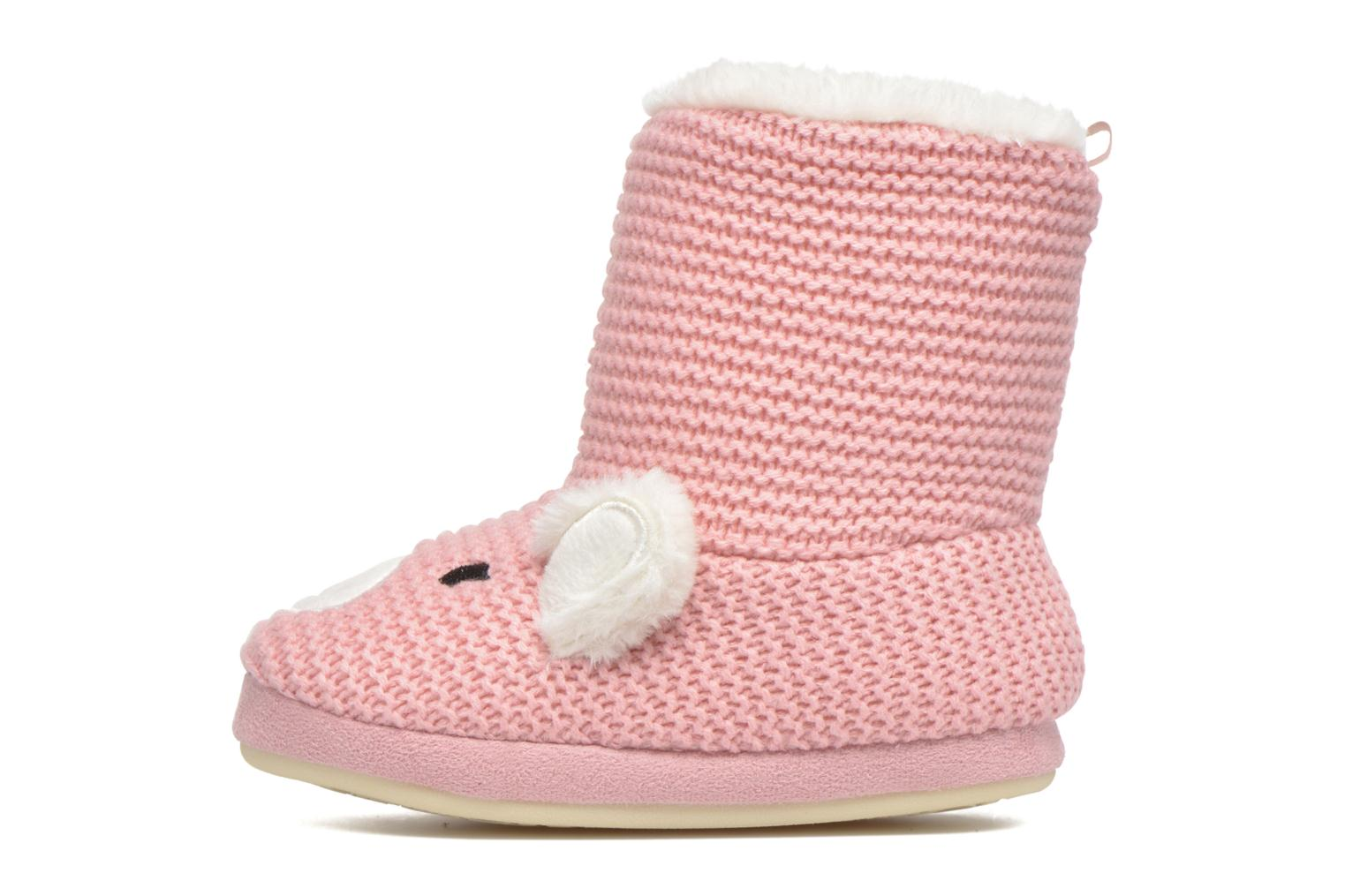 Chaussons Gioseppo Linaje Rose vue face