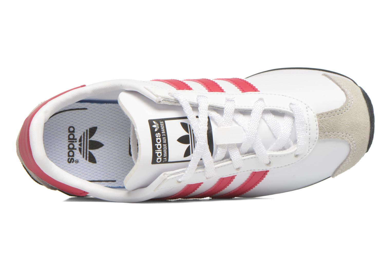 Sneaker Adidas Originals Country Og C weiß ansicht von links