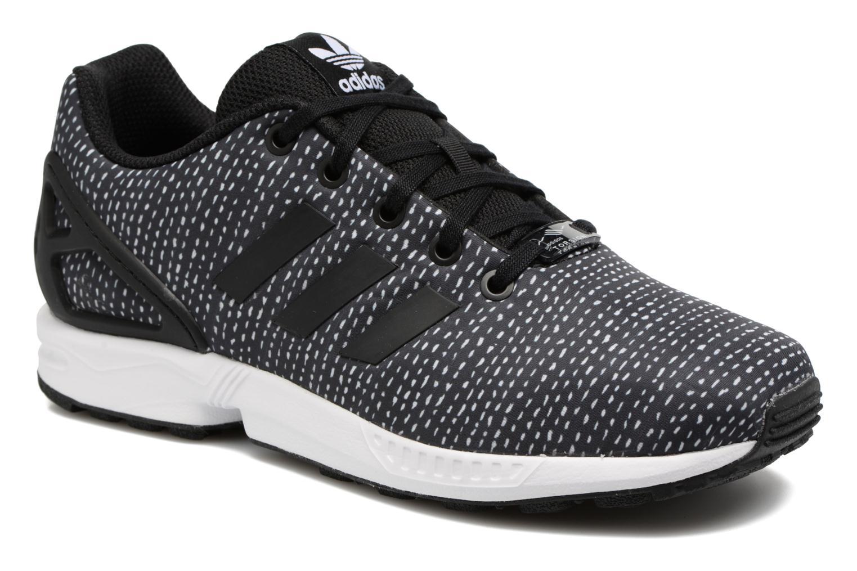 Baskets Adidas Originals Zx Flux J Noir vue détail/paire