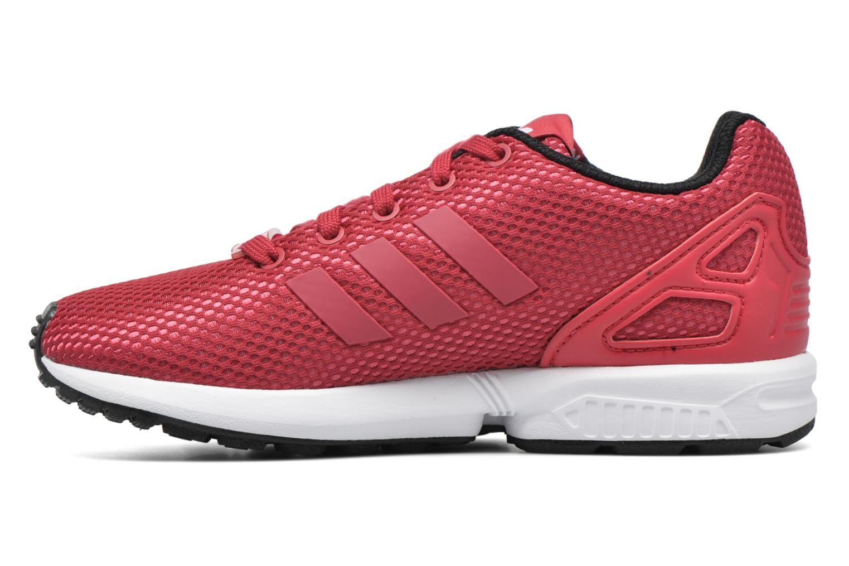 Deportivas Adidas Originals Zx Flux C Rojo vista de frente