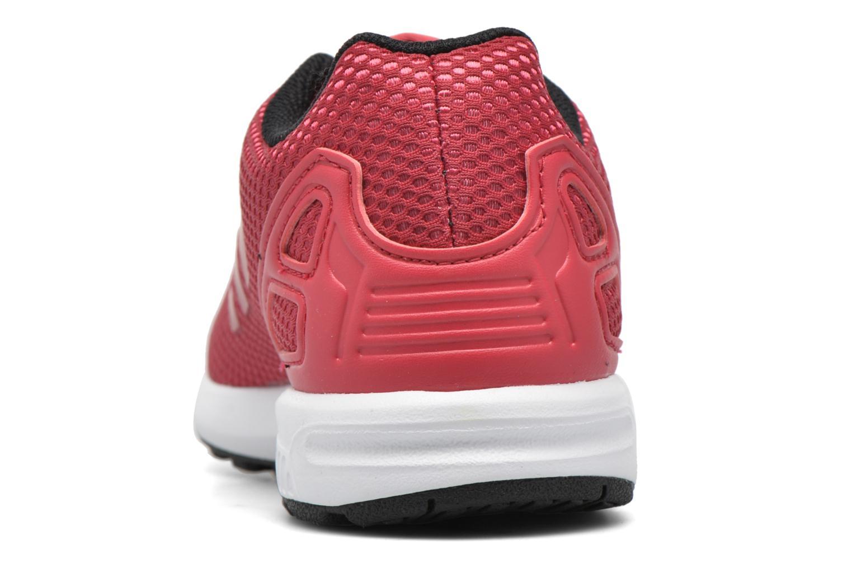 Sneaker Adidas Originals Zx Flux C rot ansicht von rechts