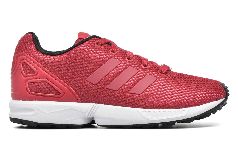 Baskets Adidas Originals Zx Flux C Rouge vue derrière