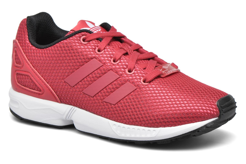 Deportivas Adidas Originals Zx Flux C Rojo vista de detalle / par