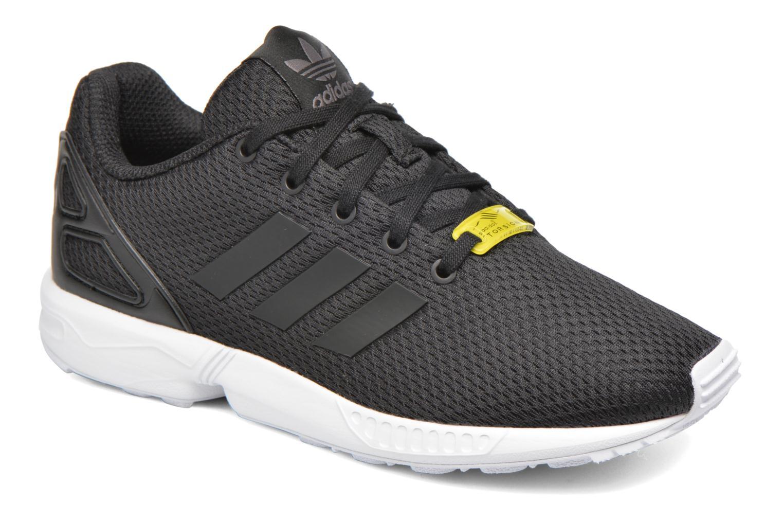Baskets Adidas Originals Zx Flux C Noir vue détail/paire