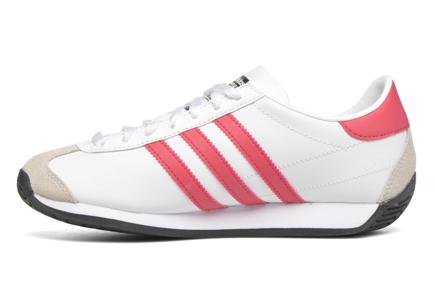 Deportivas Adidas Originals Country Og J Blanco vista de frente
