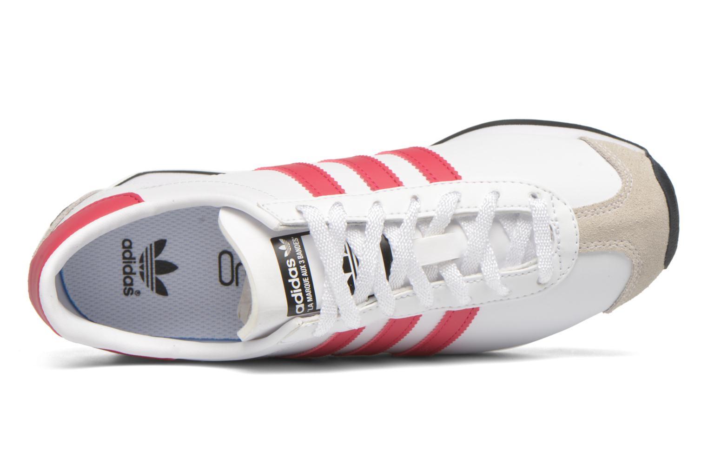 Sneaker Adidas Originals Country Og J weiß ansicht von links