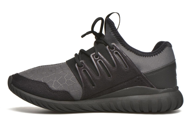 Baskets Adidas Originals Tubular Radial J Noir vue face