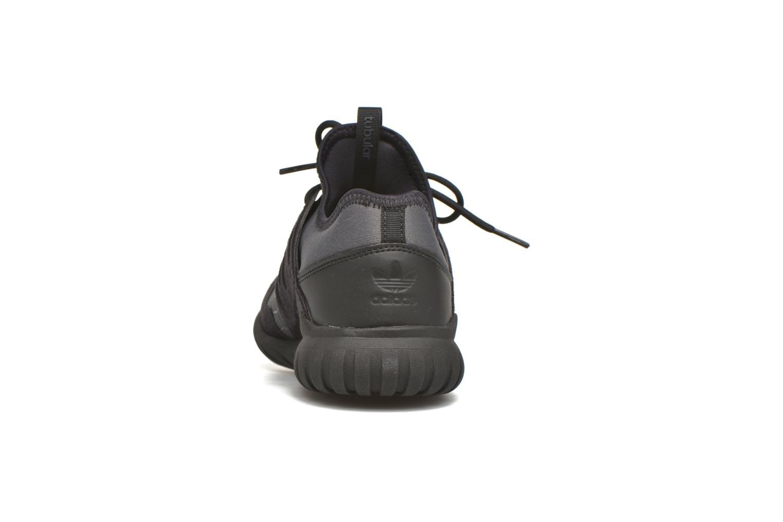 Baskets Adidas Originals Tubular Radial J Noir vue droite