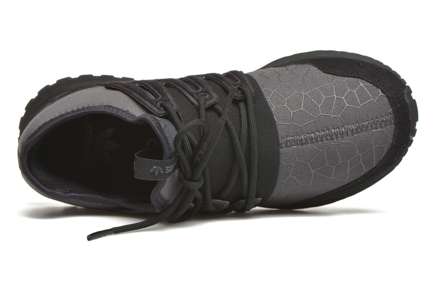 Trainers Adidas Originals Tubular Radial J Black view from the left